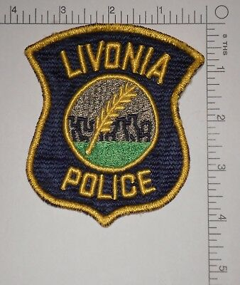 Livonia Police Patch, Michigan