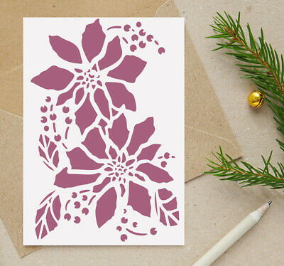 Christmas Eve Box Stencil Vintage Template Furniture Card Making