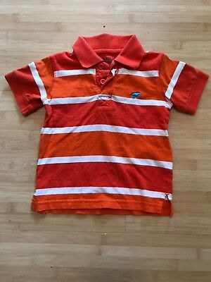 ea1227ac COMPANY 81 TODDLER Boys S/S Orange Polo Shirt Top Size 2T MSRP $26 ...
