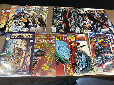 DC The Warlord Lot of 16 Comics mixed lot Volumes 1 2 3 4