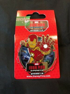 Hong Kong Disney - 2018 Iron Man Experience Pin