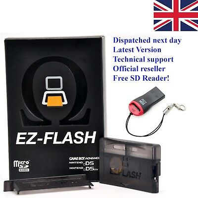 Official New, Latest version - EZ-Flash OMEGA GBA, GameBoy, Nintendo, DS DSI SP