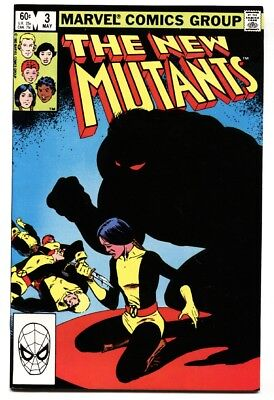 NEW MUTANTS #3 First DEMON BEAR-Marvel comic NM-