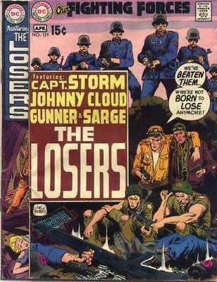 Our Fighting Forces #124 in Very Good minus condition. DC comics