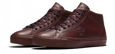 9a9ffd38add3 Converse One Star Pro Rub-Off Leather Mid Top Skate Shoes size 11  80  155519C