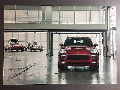 2016 Porsche Macan GTS SUV Showroom Advertising Sales Poster RARE!! Awesome L@@K