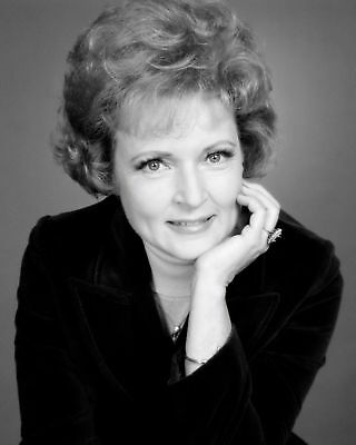 Betty White Actress And Comedian - 8X10 Quality Photo Print #8