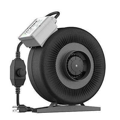 VIVOSUN 4 Inch 203 CFM Inline Duct Ventilation Fan for Grow Tent with Variable