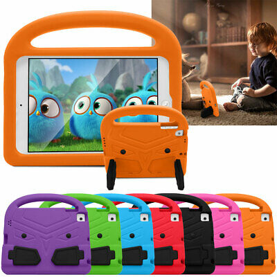 For Apple iPad Air / Air 2 Kids Candy Handle Safe EVA Foam Stand Shockproof Case