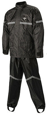 Nelson Rigg Motorcycle Rain Suit Stormrider Sr-6000 Mens Black Xl Extra Large