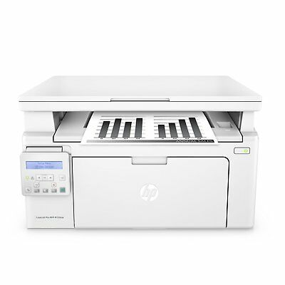 HP - LaserJet Pro MFP M130nw Wireless Black-and-White All-In-One Printer - White