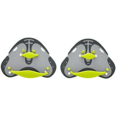 Speedo Biofuse Finger Paddle Oxide Grey / Lime Punch, Swimming Hand Paddles