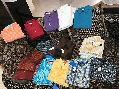 Lot WHOLESALE STORE CLOSING HAUPT GEORGE ROTH MENS DRESS SHIRT JACKET JEANS AG