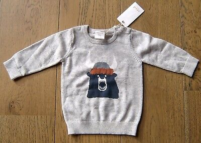 Seed Heritage Baby Boys  Cotton Jumper Sz 3 - 6 Months Brand New With Tags