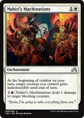 THE HARBINGER Magic SOI Shadow of Innistrad L/'ARALDO NAHIRI NAHIRI