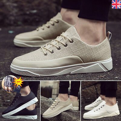 Mens Trainers Outdoor Sneaker Breathable Casual Sport Athletic Running Shoes UK