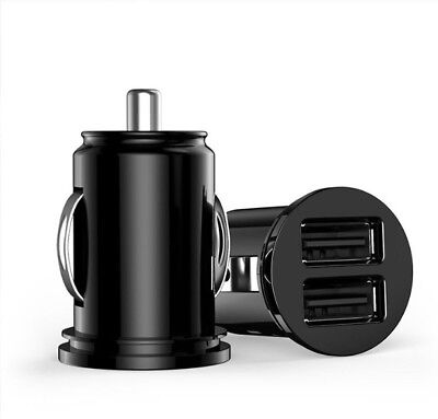 Chargeur voiture allume cigare double USB Adaptateur pour iPhone, Samsung, ipad