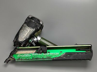 """Hitachi NR90AD 2"""" to 3-1/2"""" Clipped Head Paper Collated Framing Strip Nailer"""