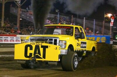 Superstock Diesel Four Wheel Drive Pulling Truck