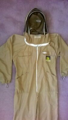 Beekeeping Suit By Sherriff.  Size M