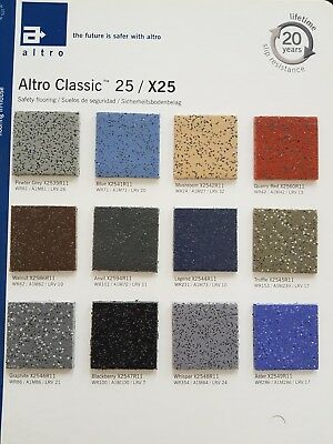 Pre Cut Altro H/d Safety Vinyl Flooring For Vw T5-T6 Swb-Lwb Campervans Various
