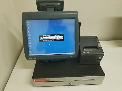 USED 5 Full Set MICROS WS5A  Work Station