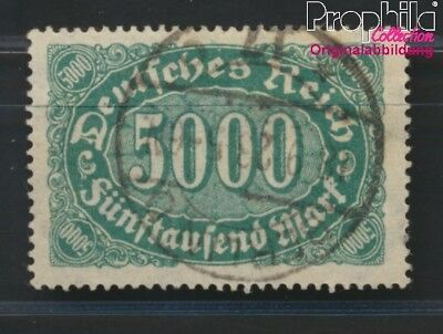 German Empire 256c proofed used 1922 Numbers Supplementary-Values (8984279