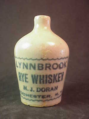 Lynnbrook Rye Whiskey - M J. Doran - Rochester New York - Miniature Whiskey Jug