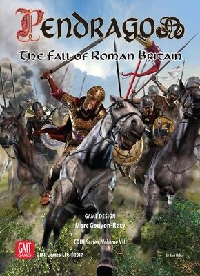 Pendragon: The Fall of Roman Großbritannien,Brettspiel,New by GMT,English