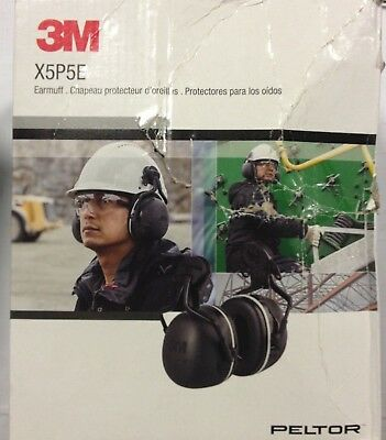3M PELTOR X5P5E Hard Hat Attached Electrically Insulated Earmuffs NRR 31dB