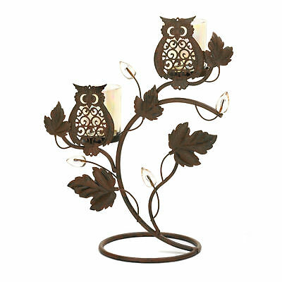 Gallery of Light - Wise Owl Duo Votive Stand