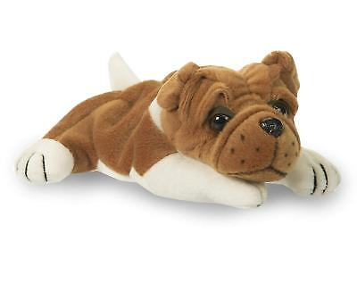 Realistic Plush Stuffed Animal Kids Gifts Toys Puppy Dog 8 Inches Baby Bulldog