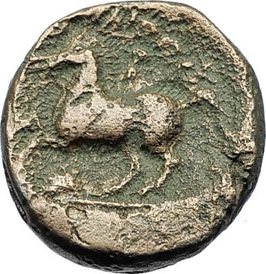 Philip II 359BC Olympic Games HORSE Race WIN Macedonia Ancient Greek Coin i70654