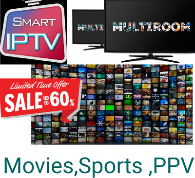 12 Month Smart IPTV Deal - UK, English, MAG, Android, IOS, SmartTV, M3U