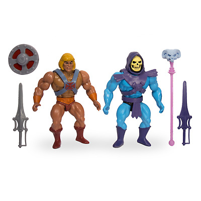 Masters of the Universe He Man Skeletor wie Epic Battles 2 Pack MOTU Super7