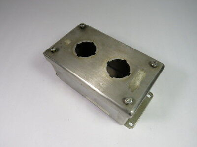 Generic 2 Gang Enclosure 2 Button 6 x 3 x 3-3/4 Inches ! WOW !