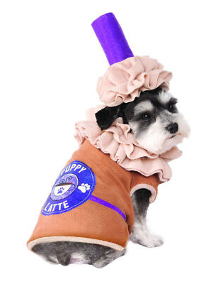 Iced Coffee - Puppy Latte Pet Costume - 4 Sizes - Foodie fnt