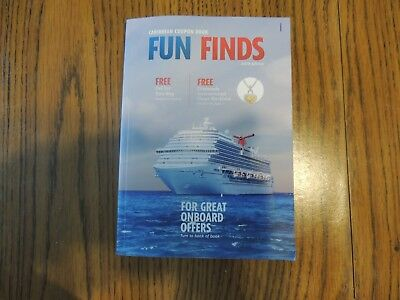 Carnival Cruise Line Caribbean Coupon Book Fun Finds Free Gifts Coupons 15 00 Picclick