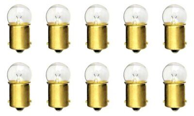 (10PK) #81 MINIATURE LAMP/ LIGHT BULBS 6.5V G-6 BA15S Base 1.02Amps Light Bulb*L