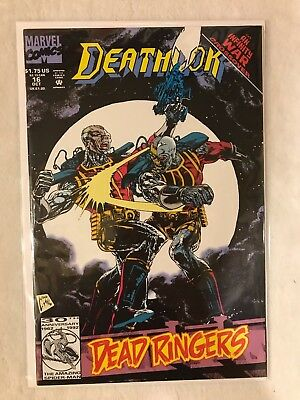 Deathlok #16 (Oct 1992, Marvel) VF