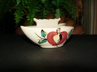 Vintage PURINTON POTTERY - apple - JAM and JELLY DISH - bowl - rare