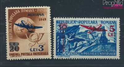 Romania 1365-1366 unmounted mint / never hinged 1952 print edition (7254871