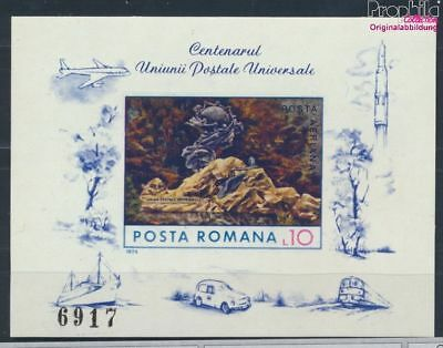 Romania block113 unmounted mint / never hinged 1974 UPU (7335984