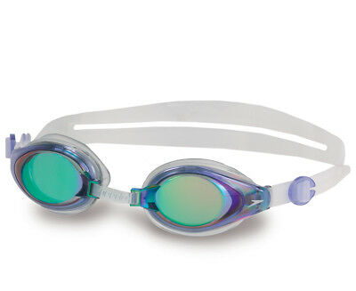 Speedo Mariner Mirror Goggles - Blue/Clear
