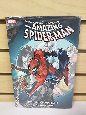 The Amazing Spider-Man: Dying Wish Hardcover - New & Sealed HC by Dan Slott