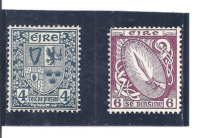 IRELAND...# 71 & 73...1922/23...Mint  HH, HR...SCV  $ 13.50