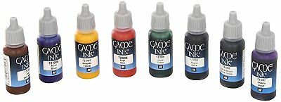 Vallejo Game Ink Paint Set   8 Colors for Models and Miniatures   17ml Bottles