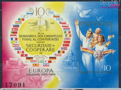 Romania block215 unmounted mint / never hinged 1985 CSCE-final act (8688320