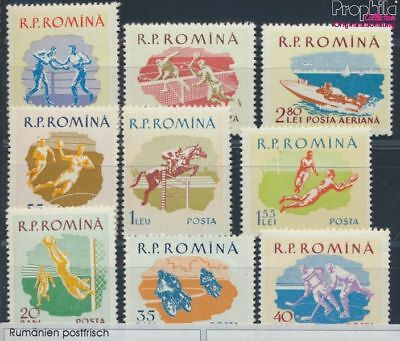 Romania 1802-1810 unmounted mint / never hinged 1959 Sports (8688312