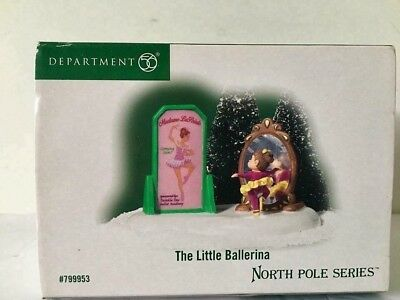 Department 56 North Pole Series The Little Ballerina #799953 Retired